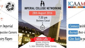 ICUMS-ICAAM Imperial College Networking 2016